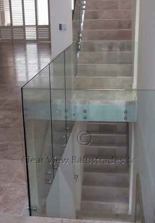 Floating Glass Balustrade