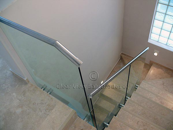 clip on stainless steel handrail