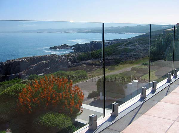 Llandudno Frameless Glass Balustrade