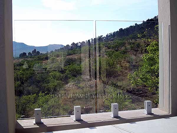 glass balustrade eastern cape