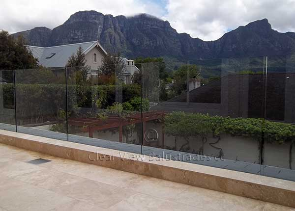Recessed Glass Balustrade