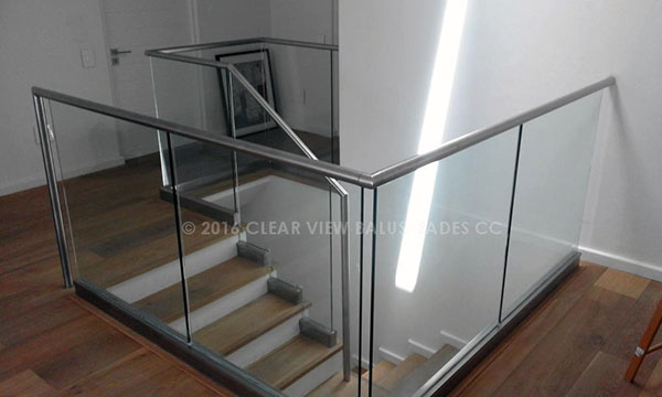 Powder coated glass channel